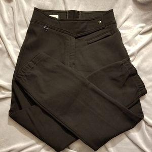 Obermeyer black fleece lined ski pants Sz 10